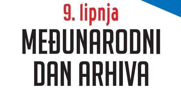 Naslovni plakat Međunarodnog dana arhiva 2020. godine